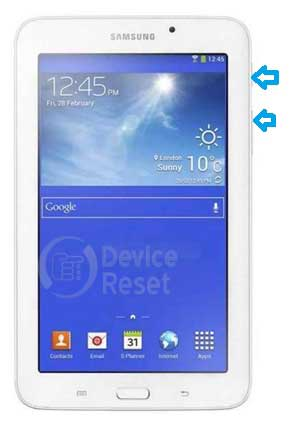 How To Reset Samsung Galaxy Tab 3 V