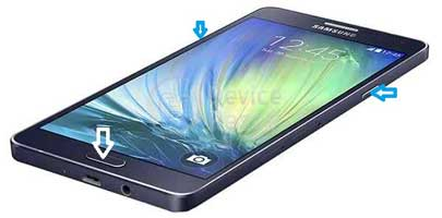 how to reset samsung galaxy a7 dous