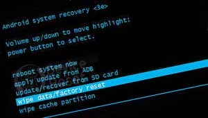 Acer Liquid M320 hard reset