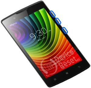 How to easy hard reset / factory reset Lenovo A2010