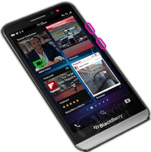 blackberry z30 reset