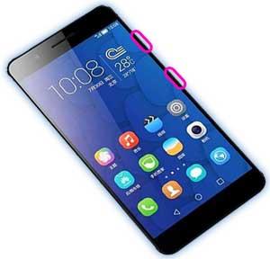 huawei honor 6 hard reset