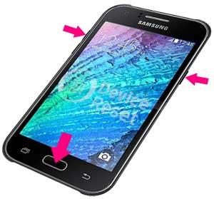 Samsung Galaxy J1 camera