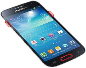 how to delete all data samsung s4