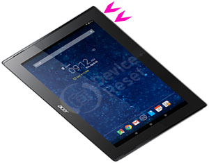 Acer Iconia Tab 10 A3-A30 hard reset