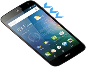 Acer Liquid Z630 hard reset