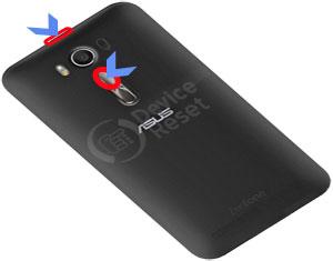 Asus Zenfone 2 Laser ZE550KL hard reset