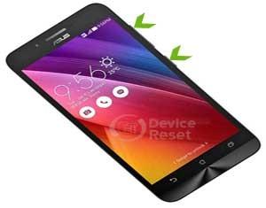 Asus Zenfone Go ZC500TG hard reset