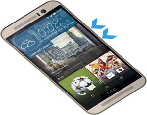 HTC One M9 hard reset