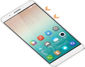 Huawei Honor 7I hard reset