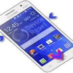 Samsung Galaxy Core 2 hard reset