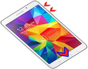 Samsung Galaxy Tab 4 hard reset