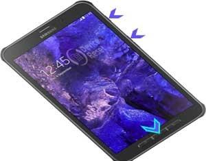 Samsung Galaxy Tab Active LTE hard reset