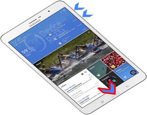 Samsung Galaxy Tab Pro hard reset