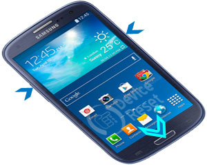 Samsung Galaxy S3 Neo I9301I hard reset