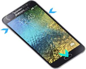 Samsung Galaxy E5 hard reset