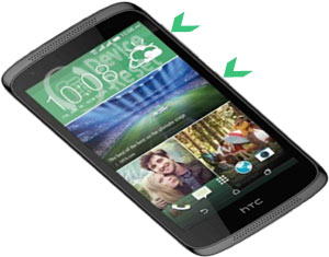 HTC Desire 526 hard reset