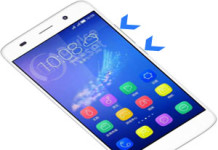 Huawei Honor 4A hard reset