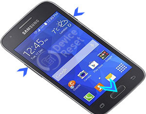 Samsung Galaxy Ace 4 hard reset