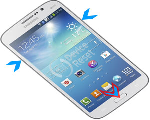 Samsung Galaxy A S Pen hard reset