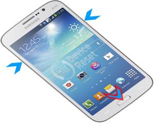 Samsung galaxy mega 2 reset