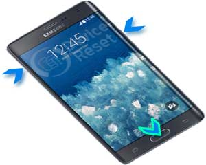 samsung galaxy note edge hard reset