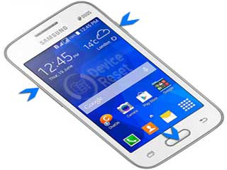 samsung galaxy v plus hard reset