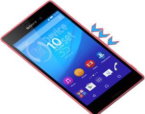 Sony Xperia M4 Aqua hard reset