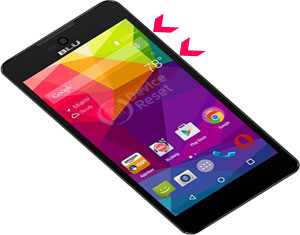 BLU Dash X Plus hard reset