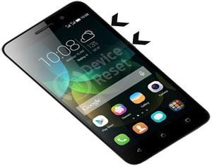 Huawei Honor 4C hard reset