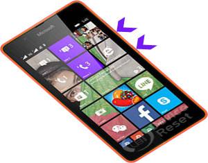 Microsoft Lumia 430 hard reset