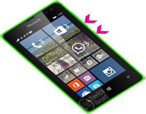 Microsoft Lumia 532 hard reset