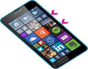 Microsoft Lumia 640 LTE hard reset