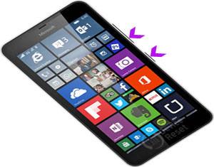Microsoft Lumia 640 XL LTE hard reset