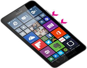 Microsoft Lumia 640 XL hard reset