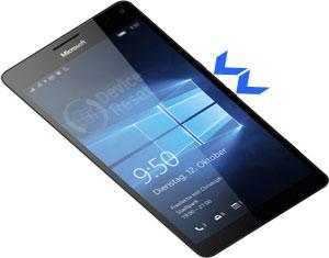 Microsoft Lumia 950 XL hard reset