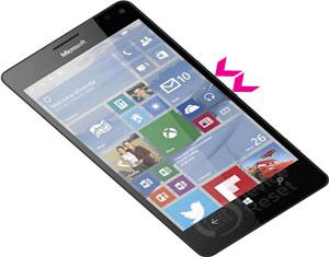 Microsoft Lumia 950 hard reset