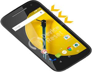 Motorola Moto E (2nd Gen) hard Reset