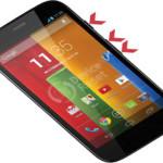 Motorola Moto G hard reset
