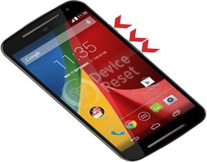 Motorola Moto G 4G (2nd Gen) hard reset