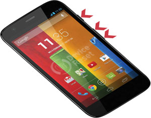 Motorola Moto G (2nd Gen) Easy Hard Reset Solution Tips