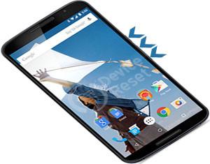 Motorola Nexus 6 hard reset