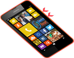 Nokia Lumia 635 hard reset