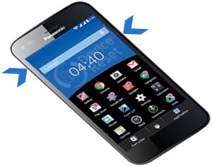 Panasonic Eluga S mini hard reset