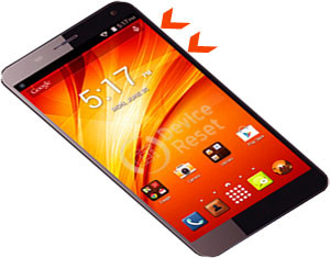 Panasonic P61 hard reset