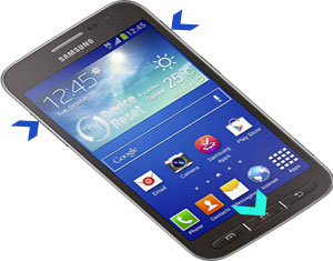 Samsung Galaxy Core Advance hard reset