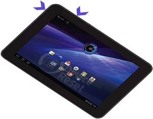 Toshiba Excite AT200 hard reset