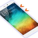 Xiaomi Mi Note Hard Reset