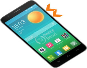 Alcatel Flash hard reset