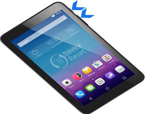 Alcatel Pixi 3 hard reset